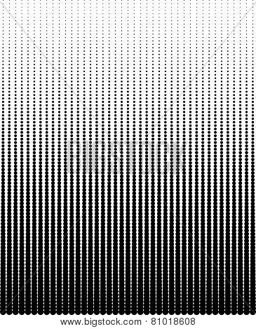 Abstract halftone dots black color