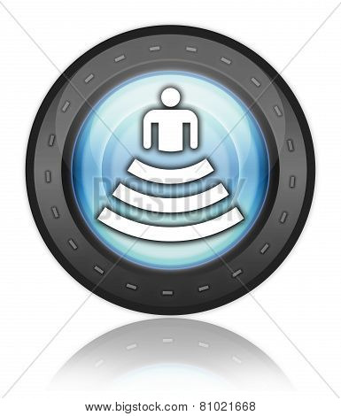 Icon, Button, Pictogram Amphitheater
