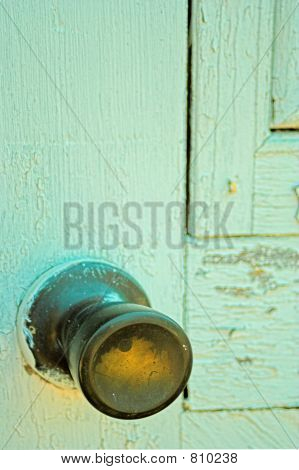 Door and doorknob