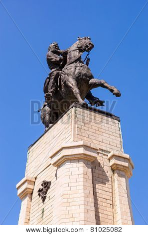 Equestrian Statue To The Founder Of Togliatti Vasily Tatishchev