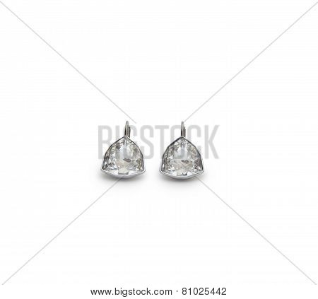 A Couple Of Diamond Earrings