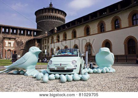 Inside The Milan Sforza Castle