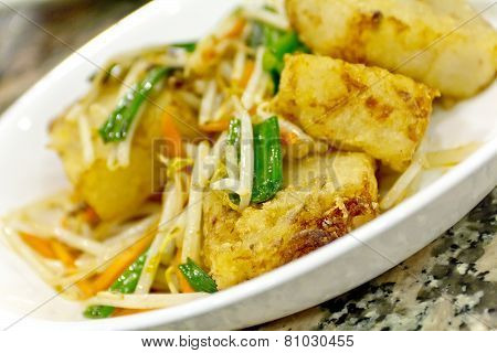 Fried Turnip Cakes