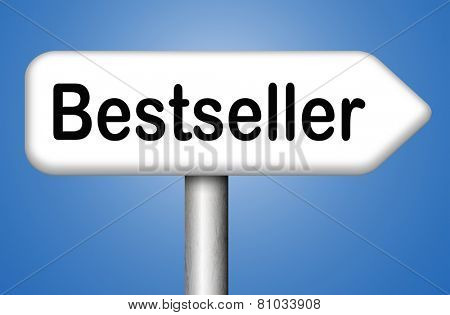 bestseller best seller top product or book, most wanted item highest quality nd best value
