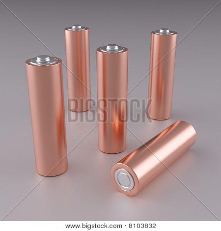 Copper Aa Batteries