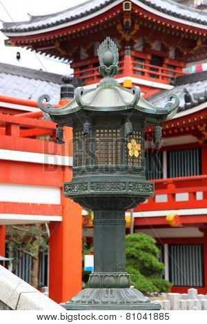 Historic Osu Kannon temple in Nagoya city