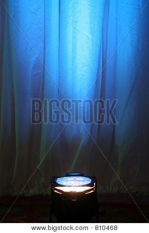 Blue Spotlight