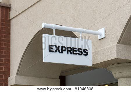 Express Retail Store Exterior