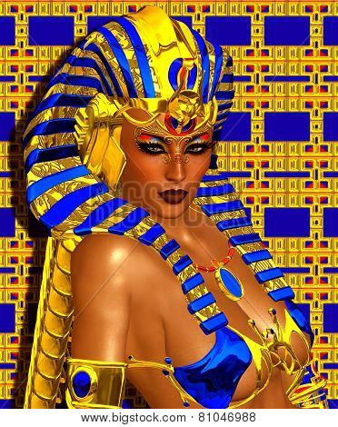 Cleopatra or any Egyptian Woman Pharaoh.