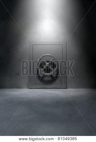 Bank Vault Concrete Room