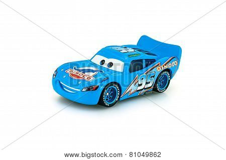 Dinoco Mcqueen Main Protagonist Of The Disney Pixar Feature Film Cars.