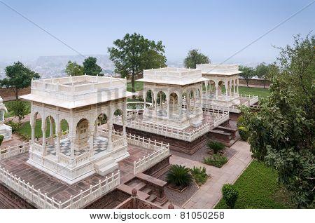 Jaswant Thada Rajah Memorial In Jodhpur
