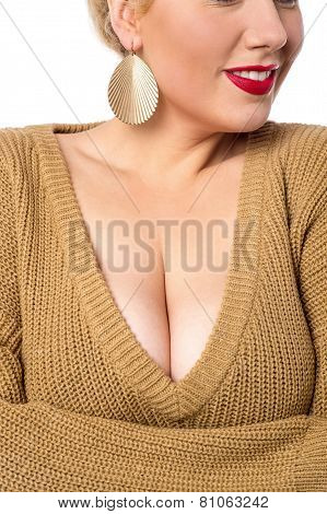 Young Woman Cropped Shoulders