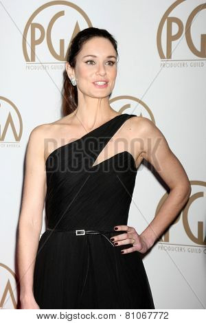 LOS ANGELES - JAN 24:  Sarah Wayne Callies at the Producers Guild of America Awards 2015 at a Century Plaza Hotel on January 24, 2015 in Century City, CA