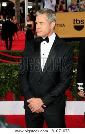 LOS ANGELES - JAN 25:  Eric Dane at the 2015 Screen Actor Guild Awards at the Shrine Auditorium on January 25, 2015 in Los Angeles, CA