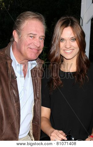 LOS ANGELES - JAN 23:  John James, Laura James at the Home and Family Show taping at a Universal Lot on January 23, 2015 in Universal City, CA