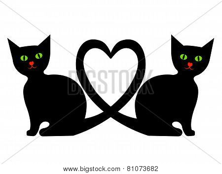 Cats with heart