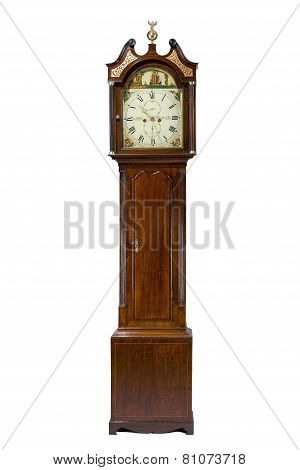 Tall Longcase Grandfather Clock