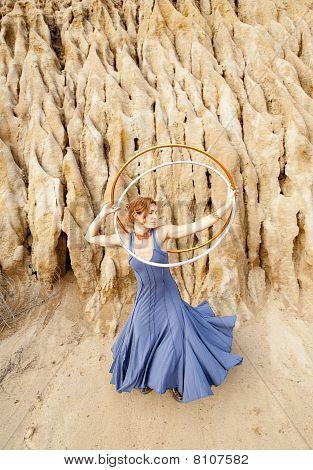 Natural Hoop Dancer
