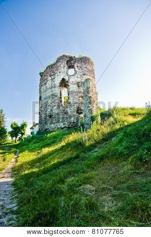 Ruins Of Castle In Buchach