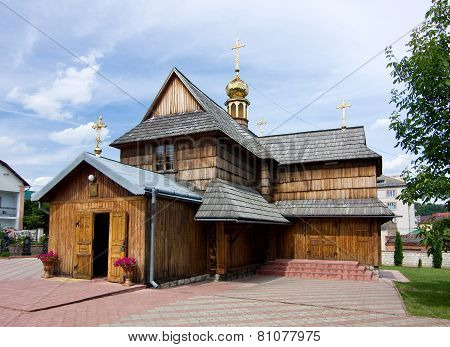 Wooden Church In Chortkiv