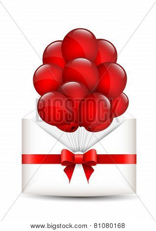 Balloons In An Envelope