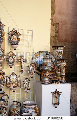 Spanish pottery, Cordoba.