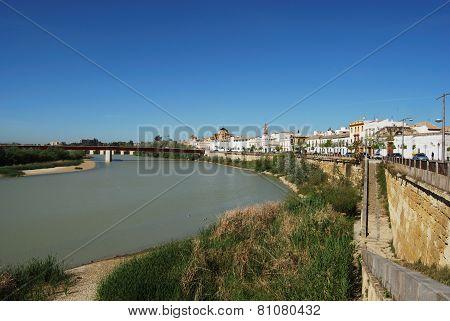 Guadalquivir river, Cordoba.