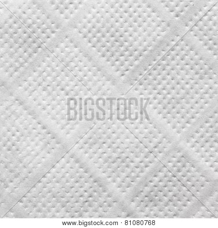 White Tissue Paper Napkin Texture