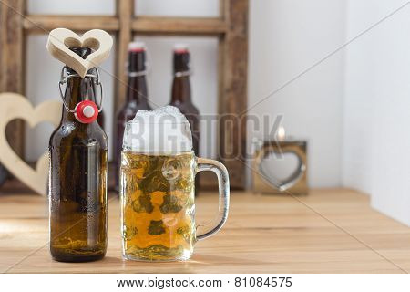 I Love Beer Concept