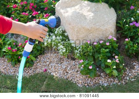 Hand Grip The Watering Tool  Rubber Tube