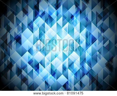 Shiny hi-tech abstract background. Vector design