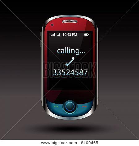 Smart phone editable vector file