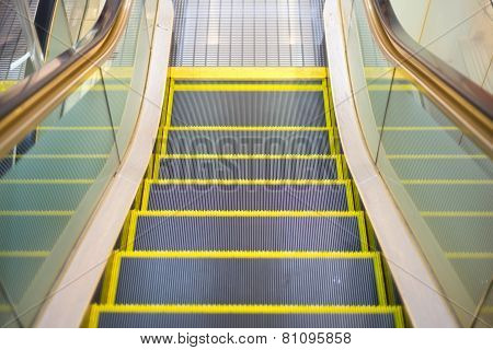 An Escalator Almost To The Floor