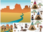 picture of peace-pipe  - Game for children  - JPG