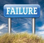 picture of fail job  - failure fail exam road sign arrow or attempt can be bad especially when failing an important task or in your study failing an exam - JPG