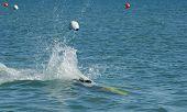 freestyle jetski underwater poster