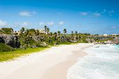 picture of mansion  - Harrismith Beach is one of the most beautiful beaches on the Caribbean island of Barbados - JPG