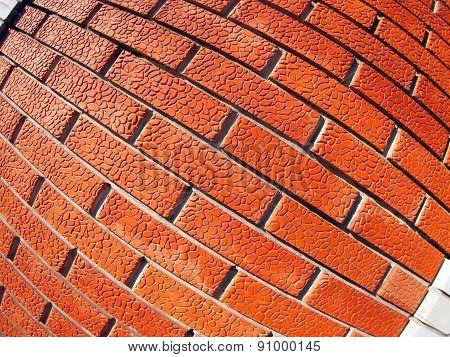 New Wall Of Decorative Bricks