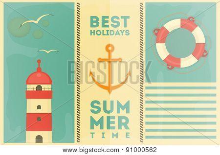 Summer Holidays Card