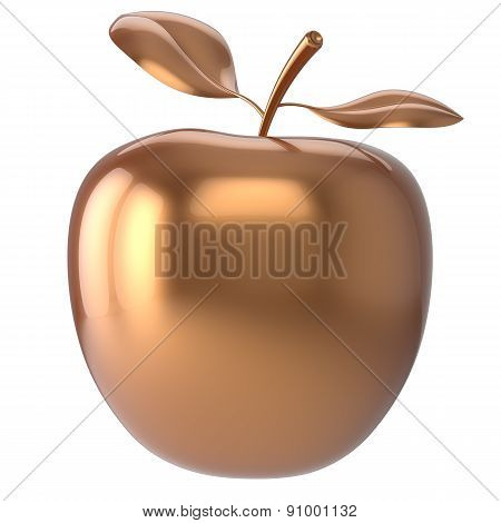 Apple Golden Fruit Nutrition Antioxidant Fresh Ripe Icon
