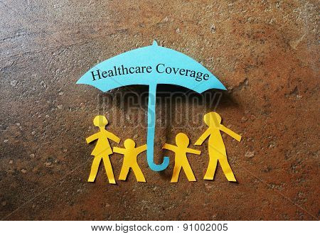 Paper Family Heathcare Coverage