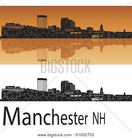 Manchester, Nh Skyline