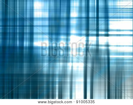 Futuristic Abstract Blue Glowing Party Background