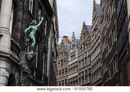 Antwerp city view