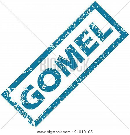 Gomel rubber stamp