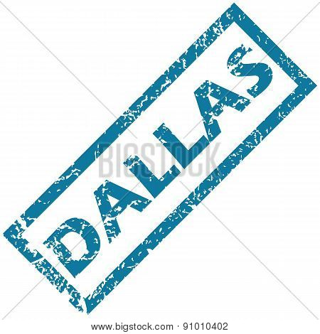 Dallas rubber stamp