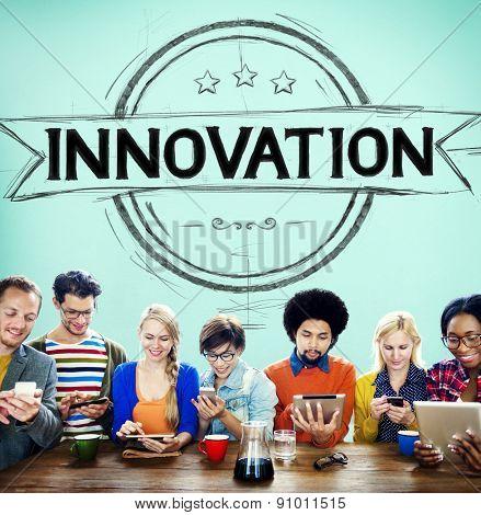 Innovation Technology Future Development Ideas Concept