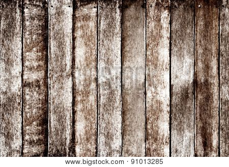 Wooden Fence Background Hardwood Design Concept