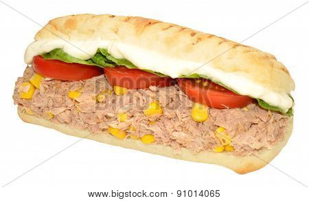 Tuna Fish And Sweet Corn Sandwich